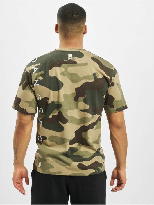 Dangerous DNGRS T-shirt Classic mimetico