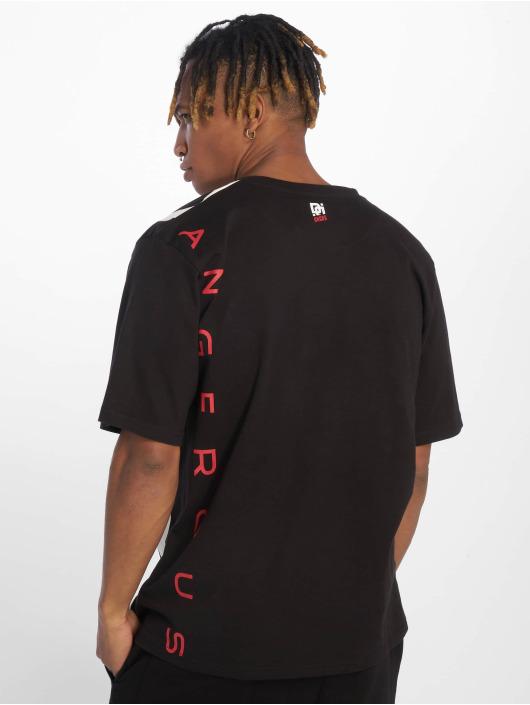 Dangerous DNGRS T-Shirt Silent Anger noir