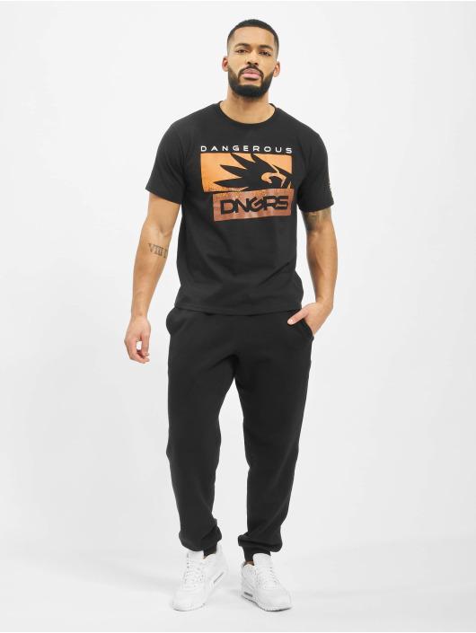 Dangerous DNGRS T-Shirt Leuz noir