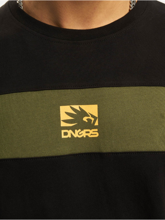 Dangerous DNGRS T-Shirt DNGRS Harmony olive