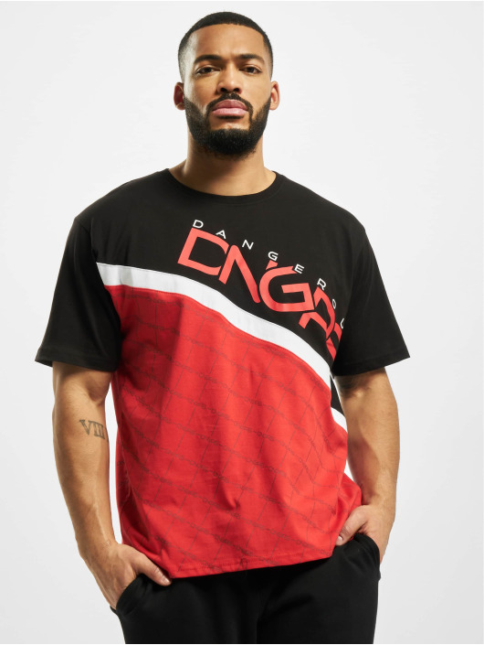 Dangerous DNGRS T-Shirt Woody rouge