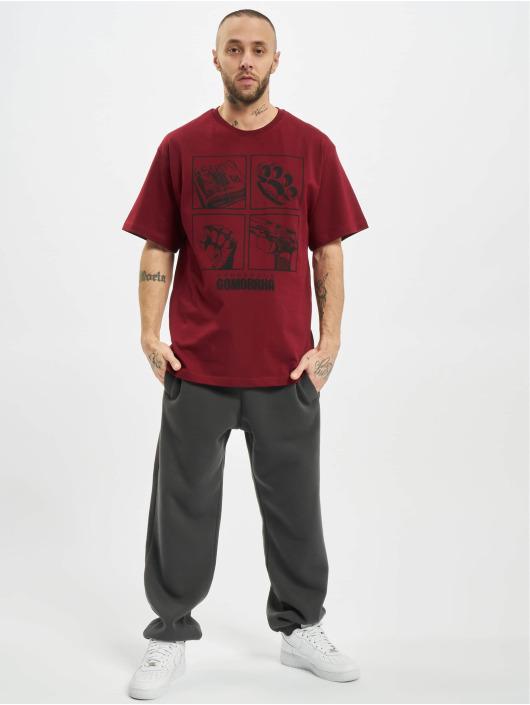 Dangerous DNGRS T-Shirt x Gomorrha rouge