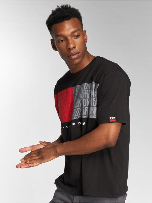 Dangerous DNGRS T-Shirt Twoblck schwarz
