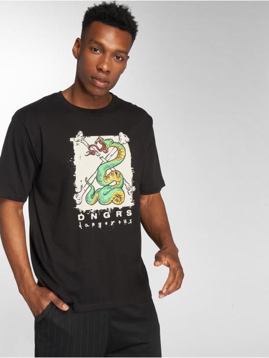 Dangerous DNGRS T-Shirt Snake schwarz