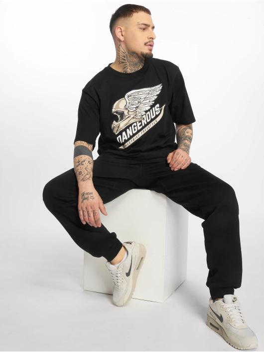 Dangerous DNGRS T-Shirt DNGRS Romain schwarz