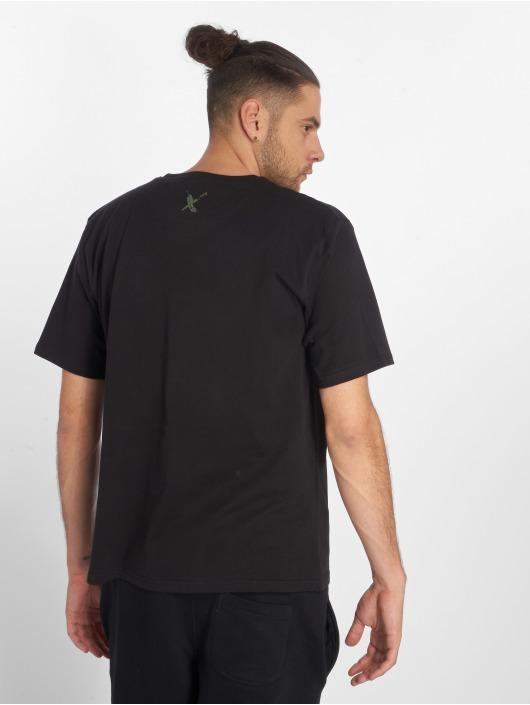 Dangerous DNGRS T-Shirt Feathercross schwarz
