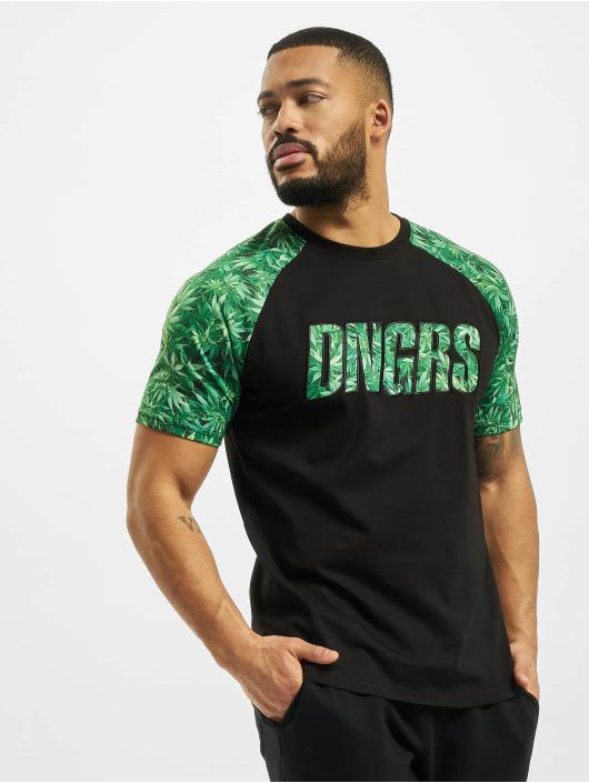 Dangerous DNGRS T-Shirt Greenline schwarz