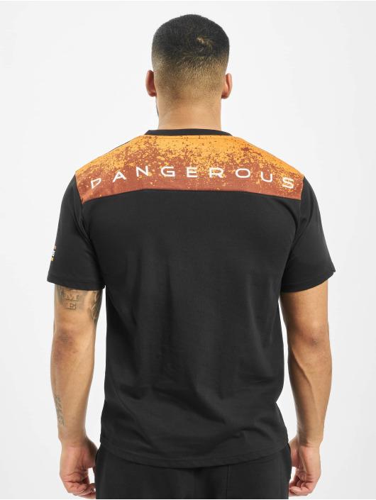 Dangerous DNGRS T-Shirt Leuz schwarz