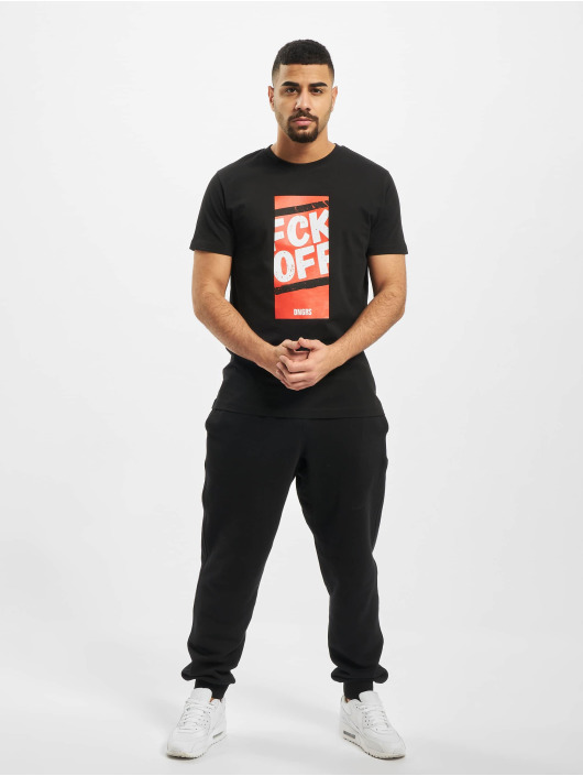 Dangerous DNGRS T-Shirt Fck Off schwarz