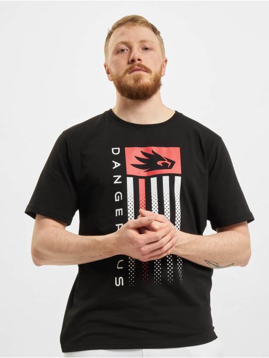 Dangerous DNGRS T-Shirt US Dots schwarz