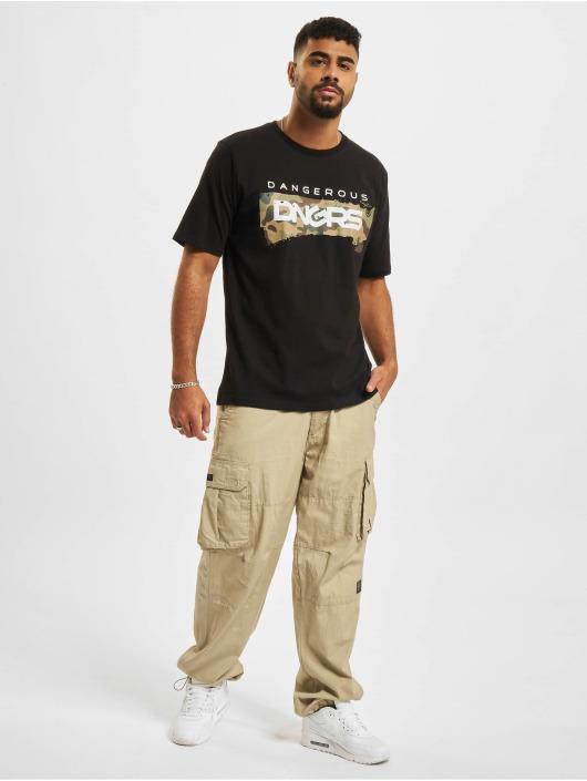 Dangerous DNGRS T-Shirt Luis schwarz