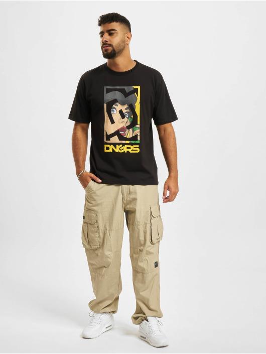 Dangerous DNGRS T-Shirt Shocked schwarz