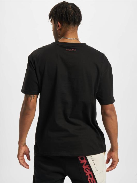 Dangerous DNGRS T-Shirt Stars Oversized schwarz