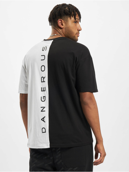 Dangerous DNGRS T-Shirt Double Oversized schwarz