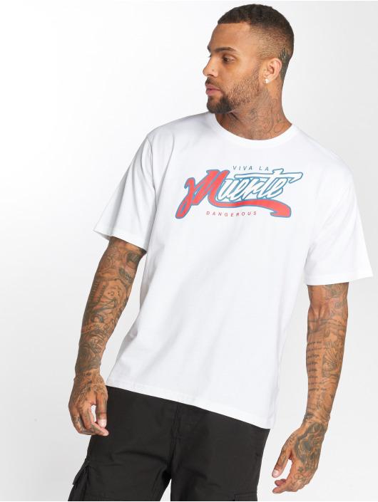 Dangerous DNGRS T-Shirt Muerte weiß