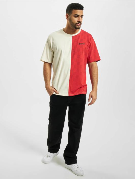 Dangerous DNGRS T-Shirt Two Face weiß
