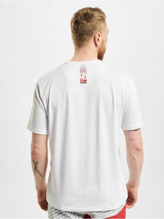 Dangerous DNGRS T-Shirt US Dots weiß