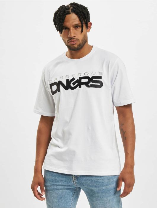 Dangerous DNGRS T-Shirt DGTS3033 weiß