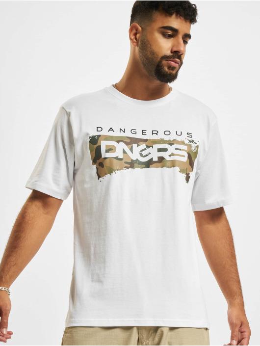 Dangerous DNGRS T-Shirt Luis weiß