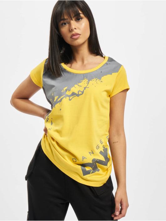 Dangerous DNGRS T-Shirt Anger yellow
