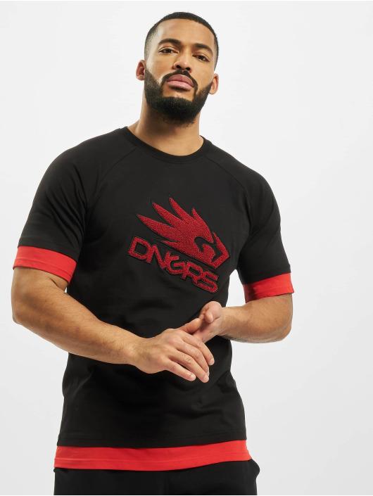 Dangerous DNGRS t-shirt Flying Eagle zwart