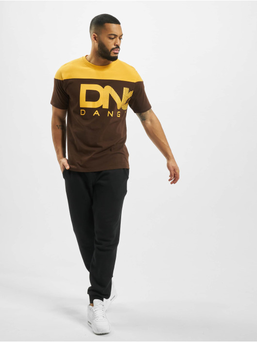 Dangerous DNGRS T-Shirty Gino brazowy