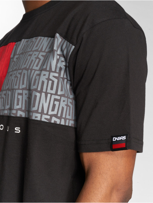 Dangerous DNGRS T-Shirty Twoblck czarny