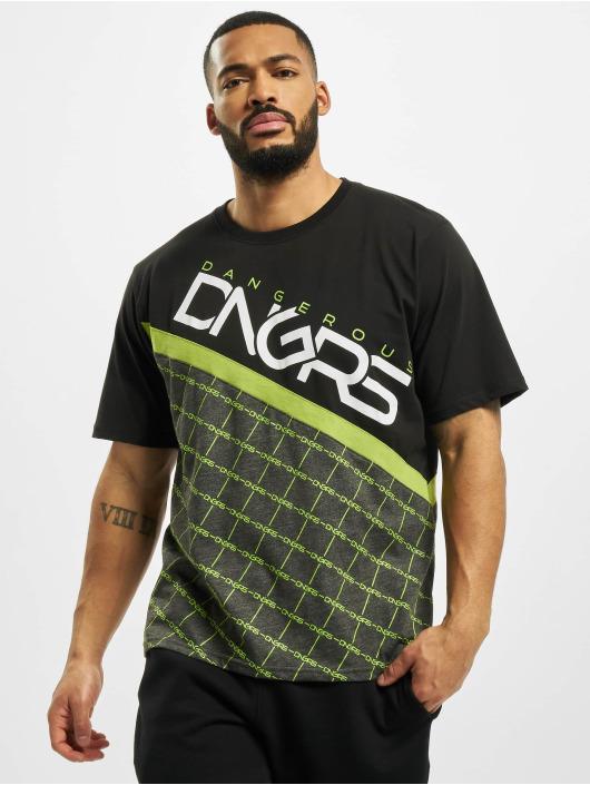 Dangerous DNGRS T-Shirty Woody czarny