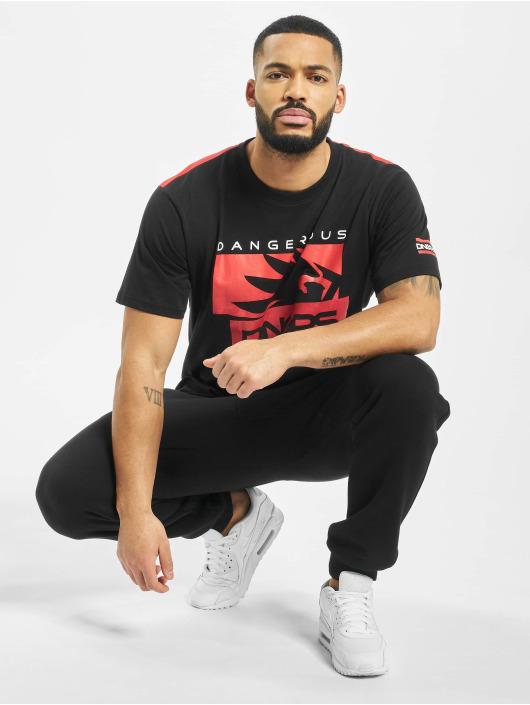 Dangerous DNGRS T-Shirty Leuz czarny