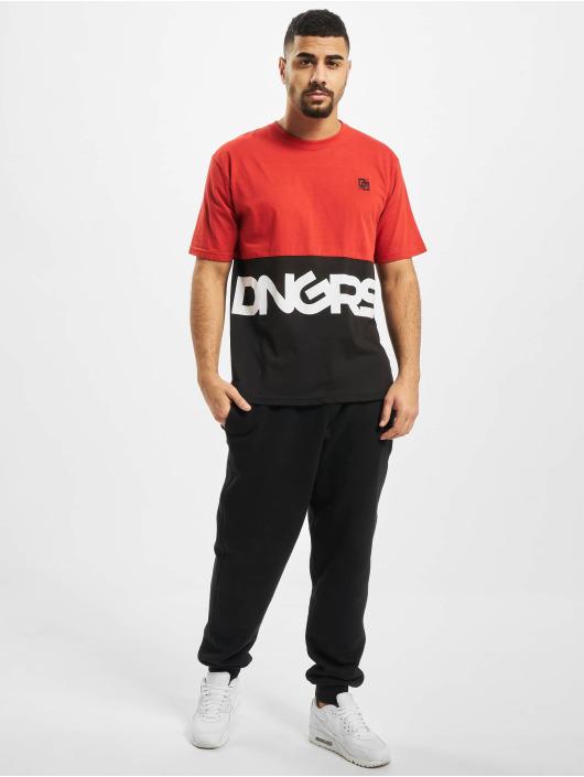 Dangerous DNGRS T-Shirty Neurotic czerwony