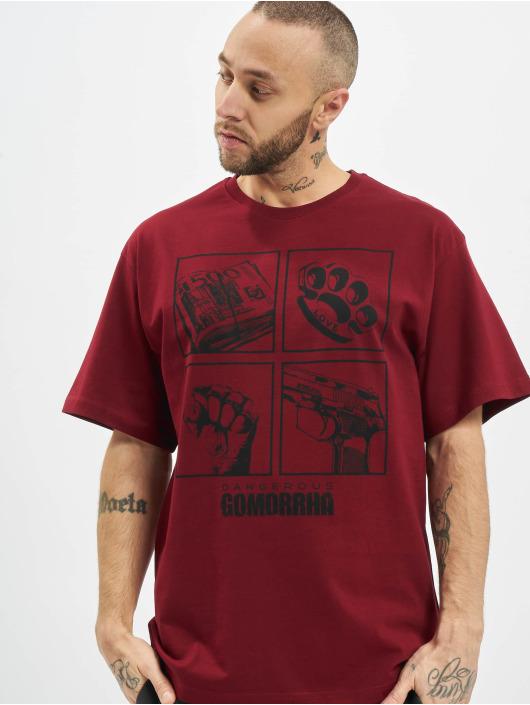 Dangerous DNGRS T-Shirty x Gomorrha czerwony