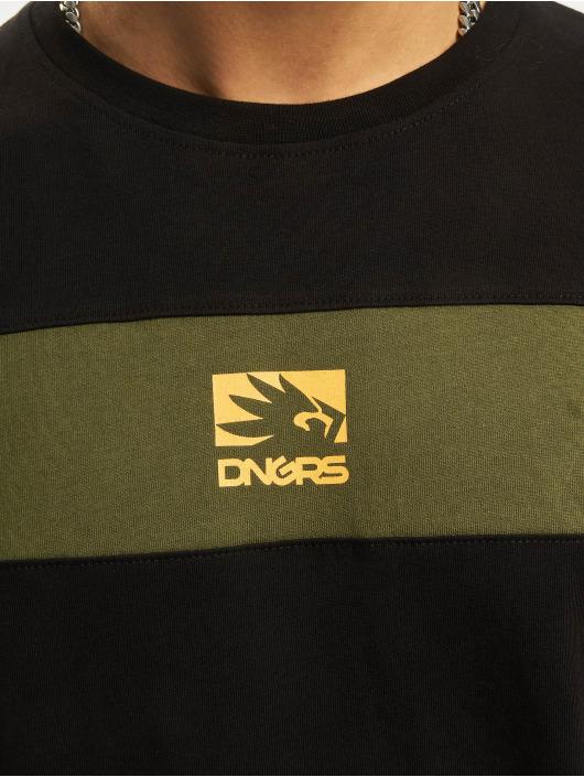 Dangerous DNGRS T-Shirty DNGRS Harmony oliwkowy