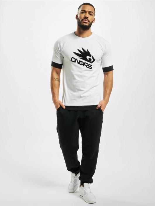 Dangerous DNGRS T-skjorter Flying Eagle hvit