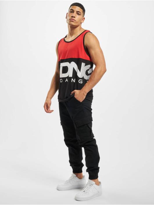 Dangerous DNGRS Tank Tops Gino schwarz