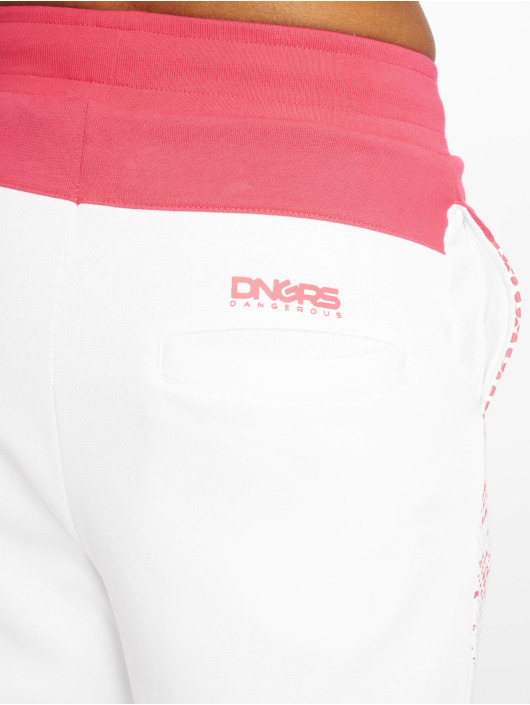 Dangerous DNGRS tepláky DNGRS Fawn biela