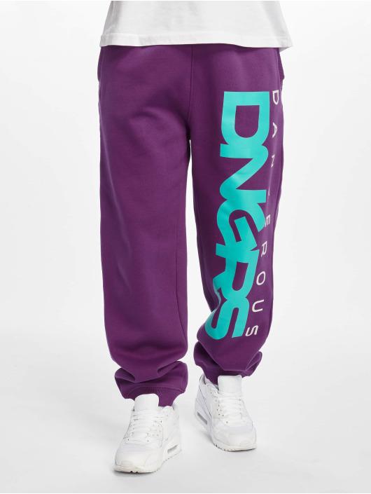 Dangerous DNGRS tepláky Classic fialová
