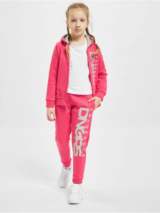 Dangerous DNGRS tepláky Classic Junior pink
