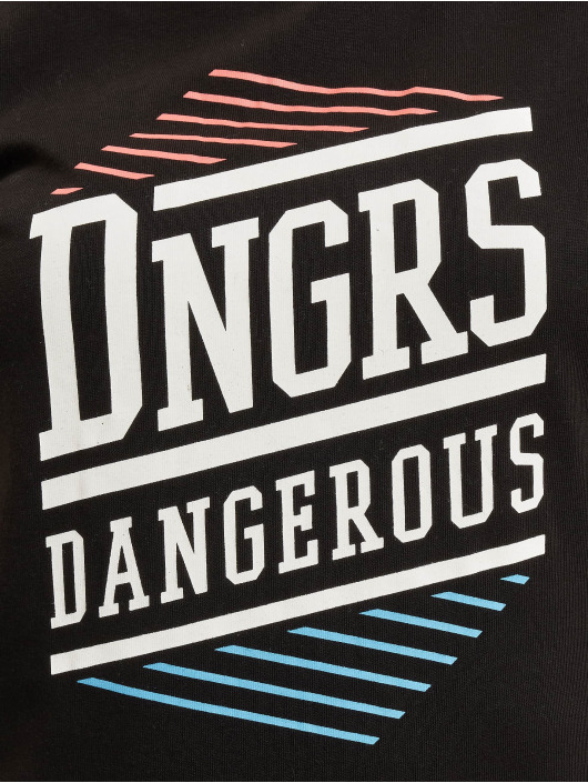 Dangerous DNGRS Tričká Tackle èierna