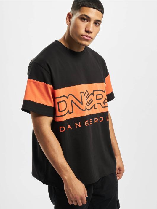 Dangerous DNGRS Tričká Kindynos èierna