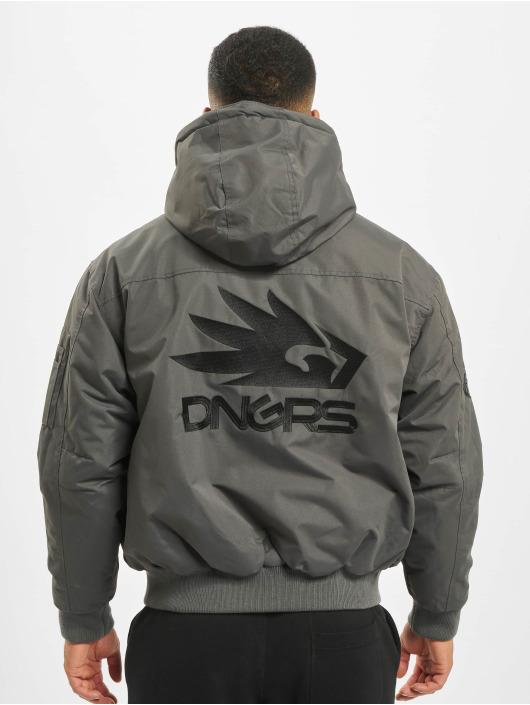 Dangerous DNGRS Winterjacke Grenadier grau