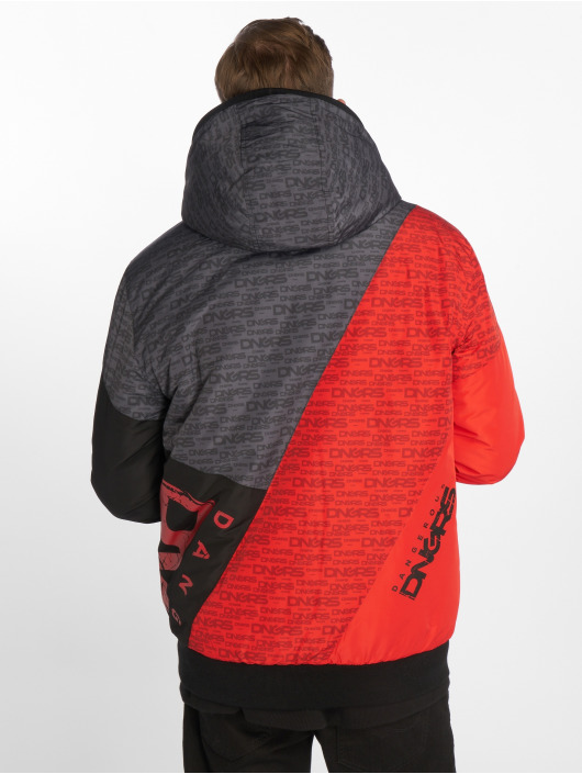 Dangerous DNGRS Tower Jacket Black Red