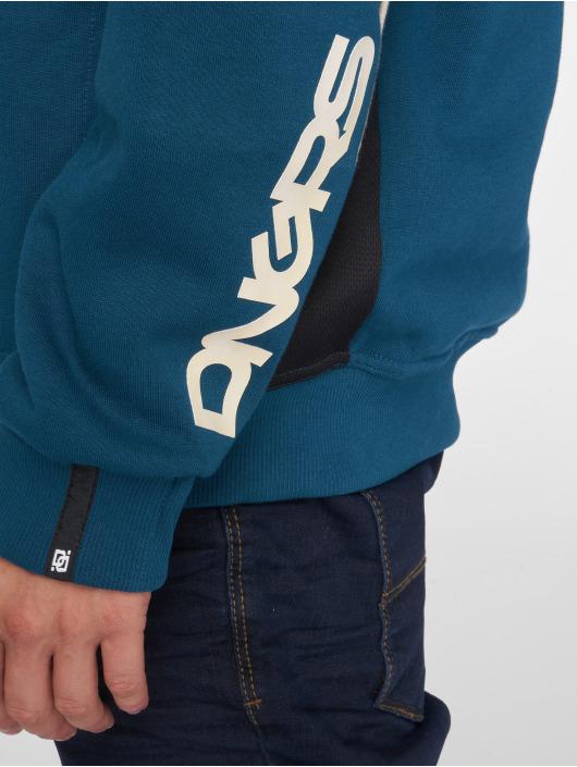 Dangerous DNGRS Zip Hoodie Thron blau