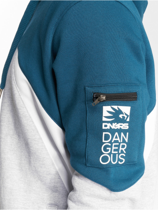 Dangerous DNGRS Zip Hoodie Threesome grau