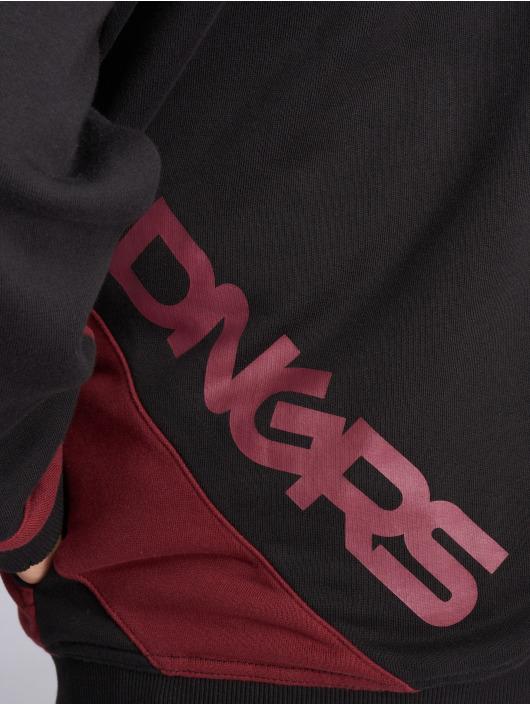 Dangerous DNGRS Zip Hoodie Strip schwarz