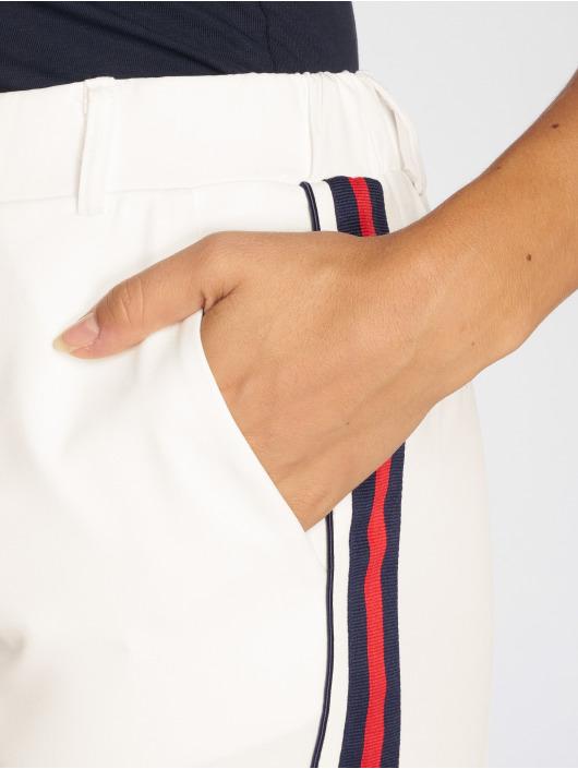 Danity Paris Chinot/Kangashousut Stripe valkoinen