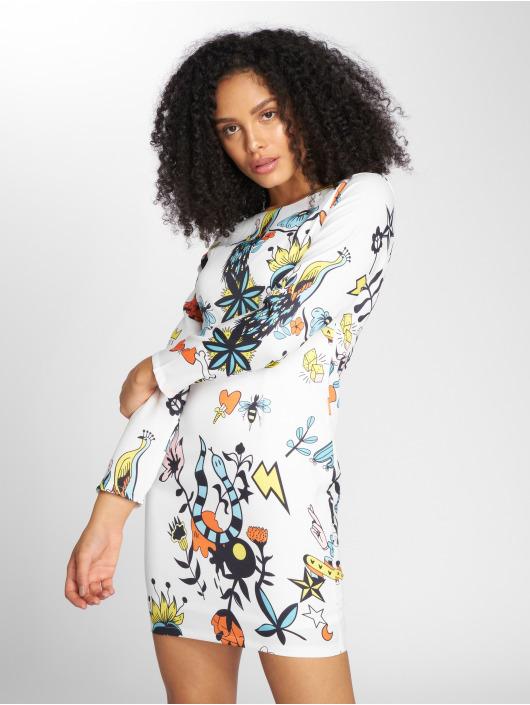 Danity Paris Dress Panacu white