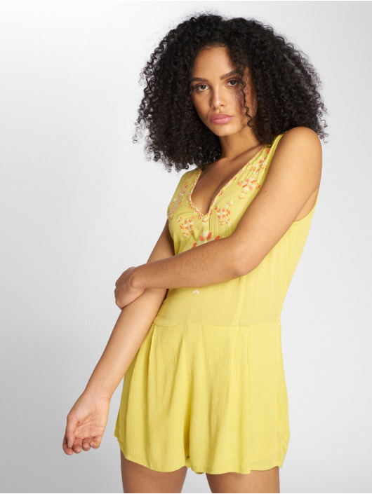Danity Paris Jumpsuits Panqun yellow