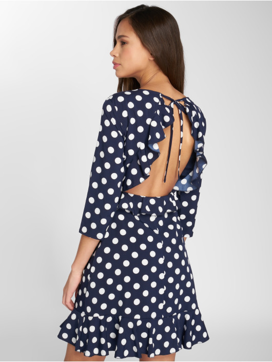 Danity Paris Kleid Dot blau