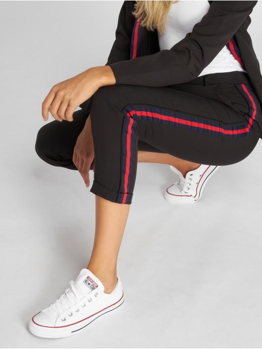 Danity Paris Pantalon chino Stripe noir