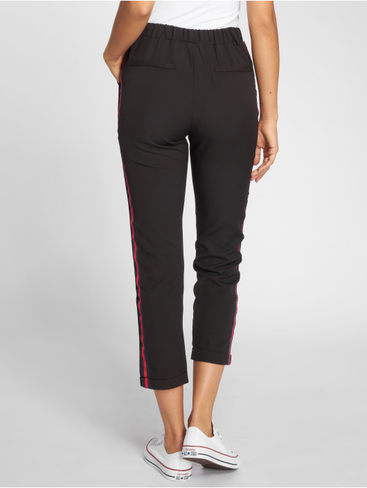 Danity Paris Pantalon chino Stripe noir